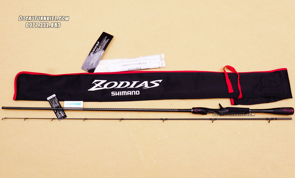 Cần lure máy ngang Shimano Zodias 166M-2 New 2020