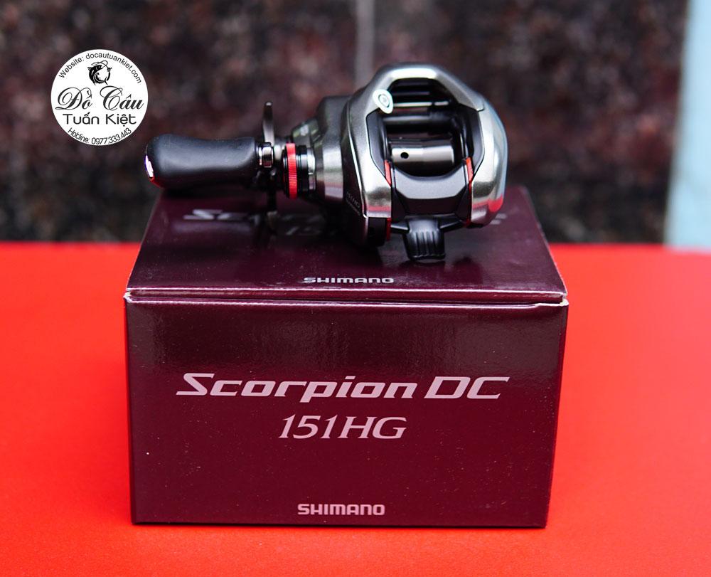 Máy câu ngang Shimano Scorpion DC 2021