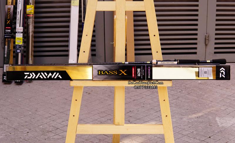 Cần lure máy ngang Daiwa Bass X 662 MB