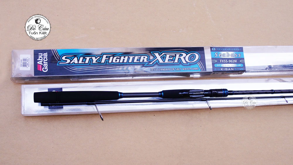 Cần lure Abu Salty Fighter Xero Seabass 962M
