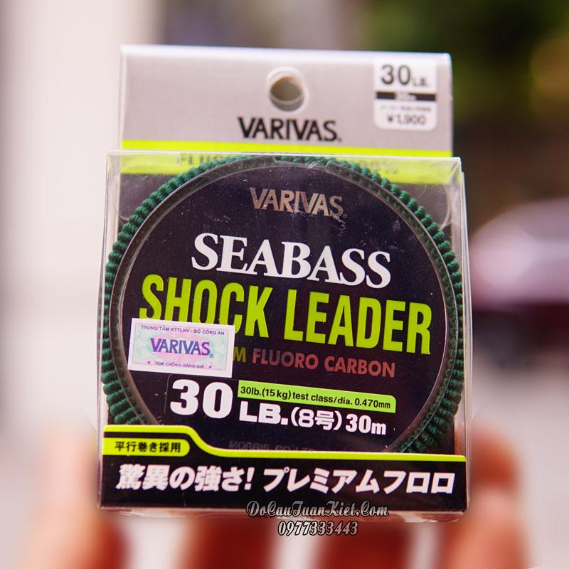 Dây Varivas Seabass Shock Leader
