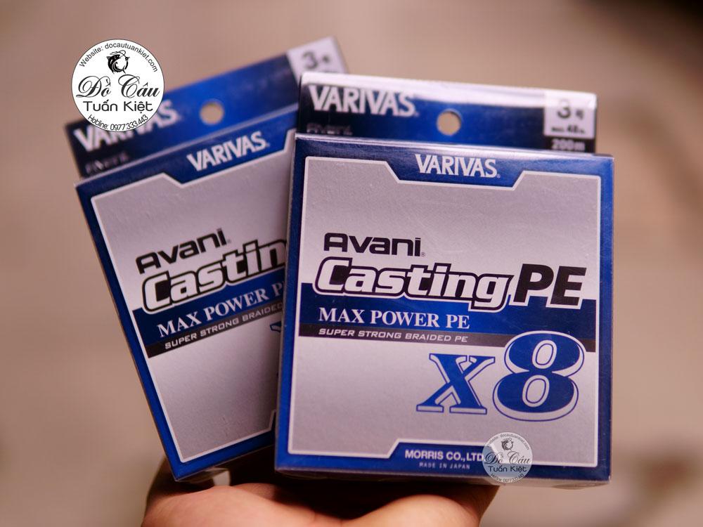 Dây Pe Varivas Avani Casting Max Power X8 200m