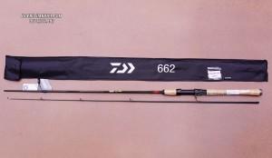 Cần lure Daiwa Crossfire Mx 662MFS