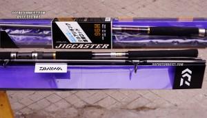 Cần lure Daiwa JigCaster 96H chuyên kè biển, Jig