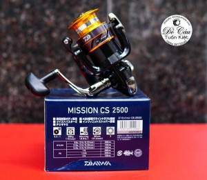 Máy câu Daiwa Mission CS 2021