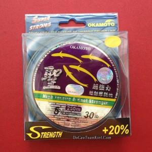 Cước 4 con cá Okamoto 250 chính hãng