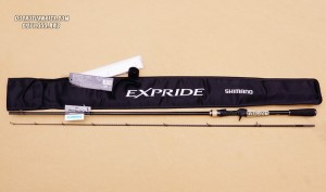Cần lure máy ngang Shimano Expride 1610M-2
